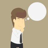Ein Geschäftsmann ist beten vektor abbildung