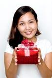 Ein Geschenk für Sie! Lizenzfreies Stockbild