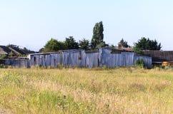 Ein geschlossener Bauernhof Großbritannien Stockfotos