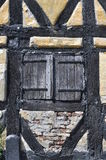 Ein geschlossenes Fenster Stockbild