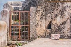 Ein geschlossenes Tor in ranthambhore Fort Lizenzfreie Stockfotos