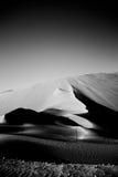 Ein Gesicht in der Wüste Lizenzfreies Stockbild