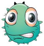 Ein Gesicht eines Monsters Lizenzfreie Stockbilder