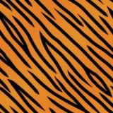 Tiger-Streifen-Muster Stockfotografie