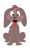 Ein glücklicher Hund vektor abbildung