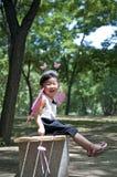 Ein glückliches Mädchen Lizenzfreies Stockfoto