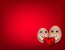 Ein glückliches Paar in der Liebe Lizenzfreie Stockfotografie