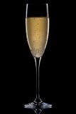 Ein Glas Champagner Stockfoto