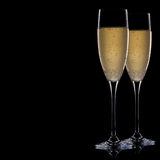 Ein Glas Champagner Stockbilder