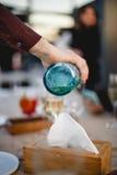 Ein Glas Champagner Lizenzfreie Stockfotos