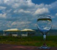 Ein Glas des Himmels Lizenzfreies Stockbild