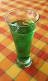 Ein Glas des tadellosen Cocktails Stockbild