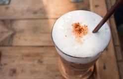 Ein Glas Kaffee Lizenzfreie Stockfotografie