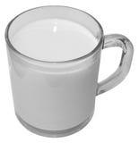 Ein Glas Milch Stockbilder