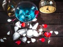 Ein Glas von Martini Lizenzfreie Stockfotos