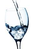 Ein Glas Wasser stockbilder