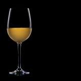 Ein Glas weißer Wein Lizenzfreies Stockbild
