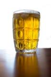 Ein goldenes Bier Stockbild