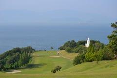 Ein Golfplatz Lizenzfreie Stockfotos