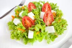 Ein grüner gesunder Salat Stockfotos
