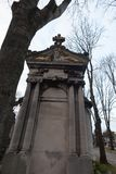 ein Grab in Pere-lachaisekirchhof, Paris, Lizenzfreie Stockbilder