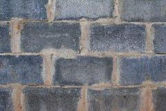 Ein Grau blockt Wand Stockfotos