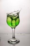 Ein gree Cup Glas Lizenzfreies Stockbild