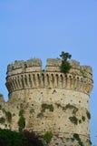 Ein griechischer Turm lizenzfreie stockfotos
