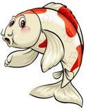 Ein großer Fisch Stockbild