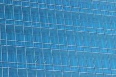 Ein großer Wolkenkratzer des Glases Stockfotografie