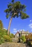 Ein großes englisches viktorianisches Haus Lizenzfreies Stockfoto