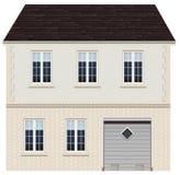 Ein großes Hausdesign Lizenzfreie Stockfotos