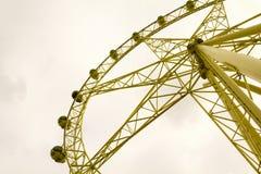 Ein großes Riesenrad Stockbild
