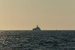 Ein großes Schiff Stockfotos
