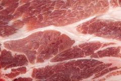 Ein großes Stück rohes Fleisch ist eins Lizenzfreies Stockbild