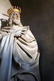 Ein großer König in der göttlichen Leuchte Lizenzfreies Stockfoto