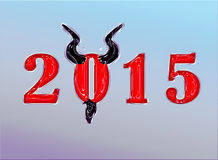 Ein guten Rutsch ins Neue Jahr in elf verschiedenen Sprachen Stockfoto