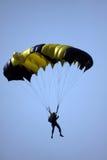Ein Hängegleiter in der Luft Lizenzfreie Stockfotografie