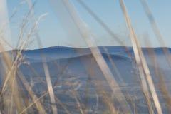 Ein Hügel mit viewtower Lizenzfreie Stockfotografie