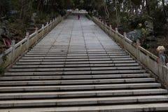Ein halber Tempel der steilen Leiter-EIn Gebirgs Stockbilder