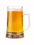 Ein halbes Liter Bier lizenzfreie stockfotografie