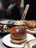Ein Hamburger stockfoto