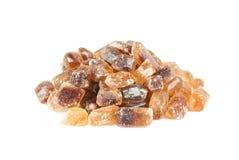 Ein Haufen des braunen Zuckers Stockbild