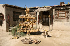 Ein Haus im chinesischen westlichen Dorf Stockfoto
