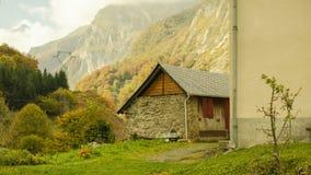 Ein Haus im Land Stockfoto