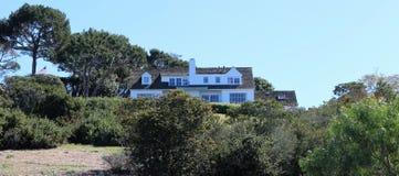 Ein Haus in Palos Verdes Estates, Kalifornien lizenzfreie stockfotos