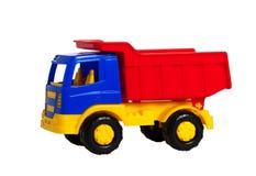 Ein helles Plastikspielzeug truck2 Lizenzfreie Stockfotos