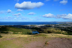 Ein herrlicher Blick in Edinburgh in Schottland Lizenzfreie Stockbilder