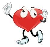 Ein Herz Stockfoto