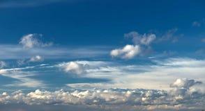 Ein Himmel Stockbild